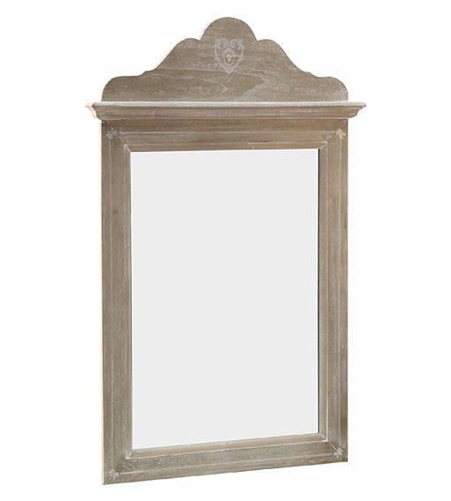 Espejo rectangular peque o vintage gisele de lujo en for Espejos pequenos vintage