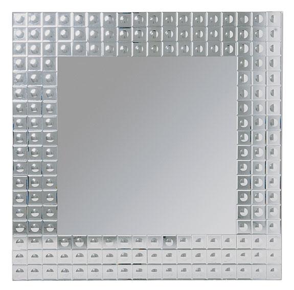 Espejo cuadrado vintage burbuja no disponible en for Espejos cuadrados