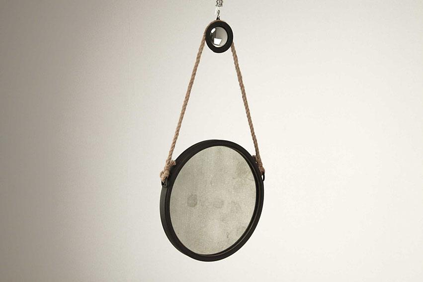 Espejo circular siglo xx peque o for Espejo circular
