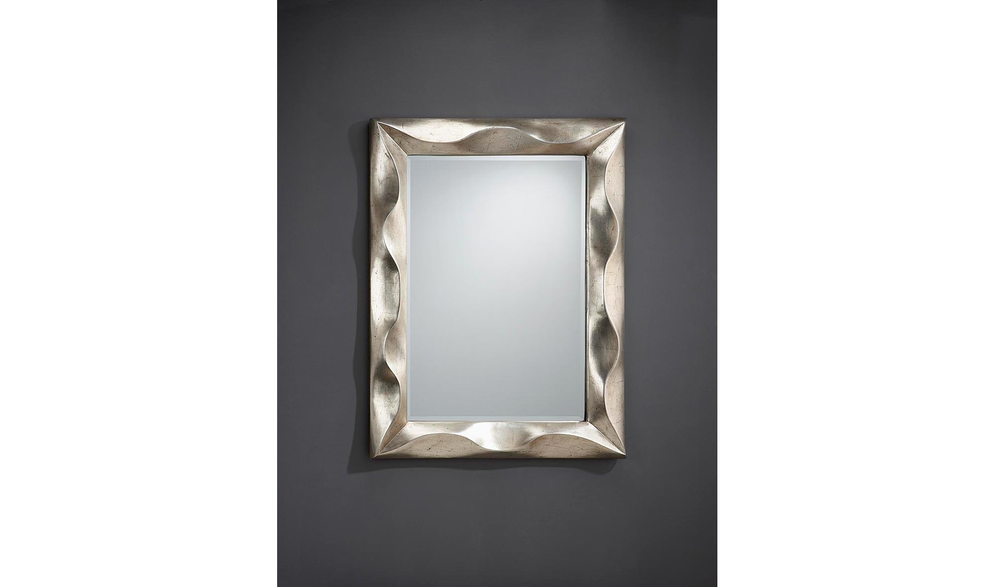 Espejo rectangular alboran de lujo en for Espejo rectangular