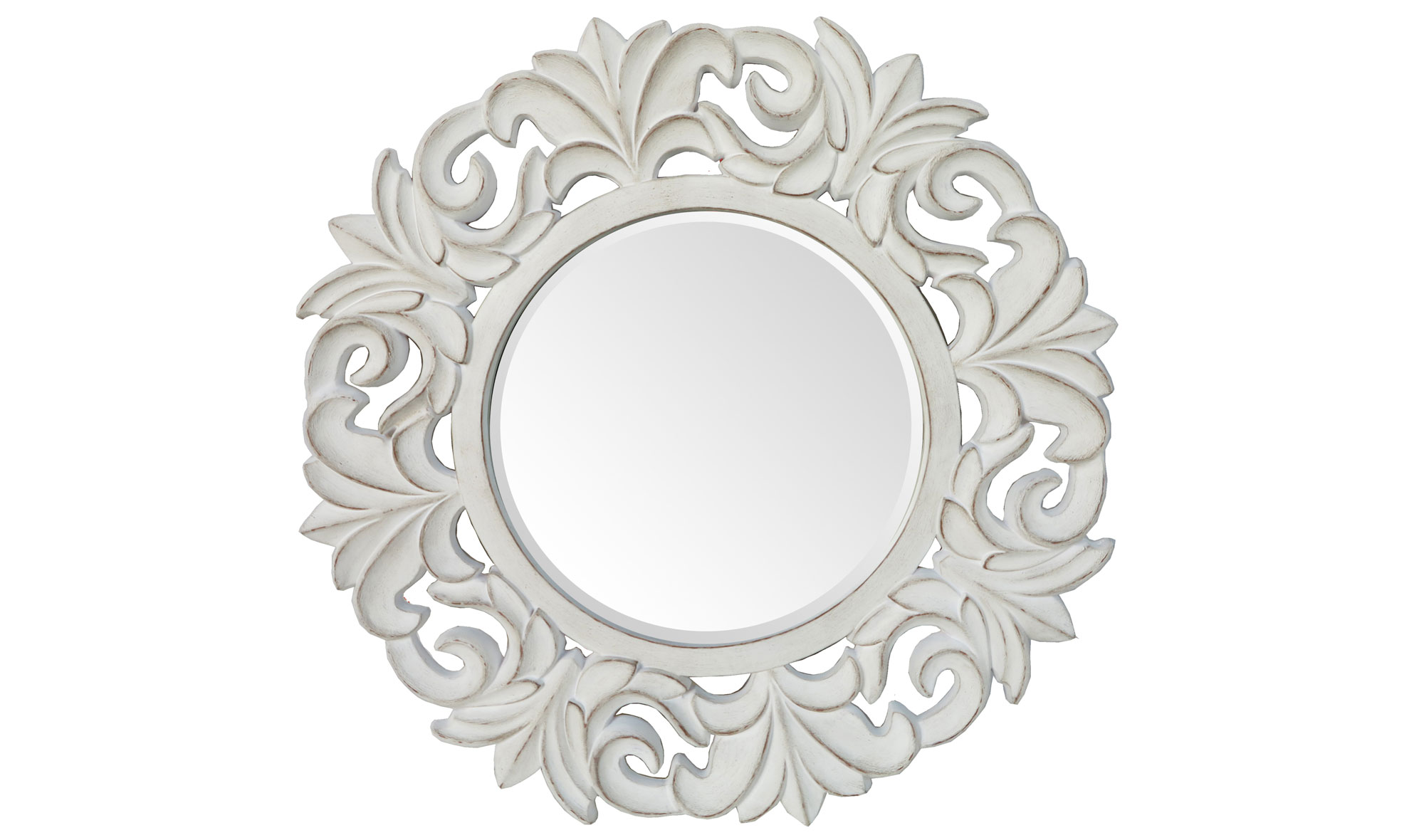 Espejo redondo vintage Indos