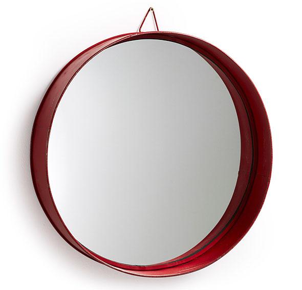Espejo rojo Vintage Odissa