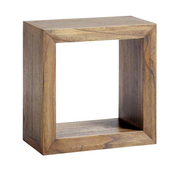 estante cuadrado colonial merapi en. Black Bedroom Furniture Sets. Home Design Ideas
