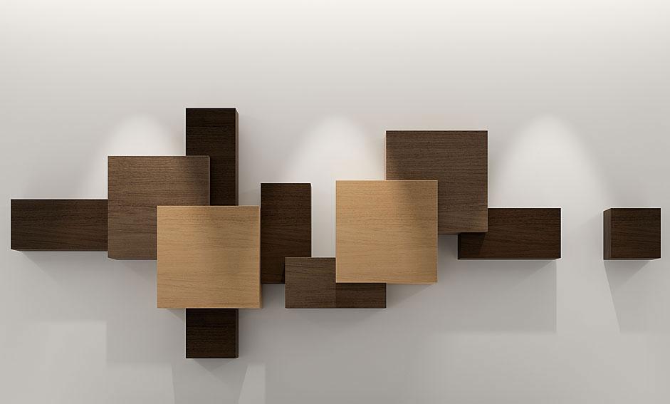 muebles cosas de arquitectos estantera moderna cubista ii estanteras de diseo muebles de