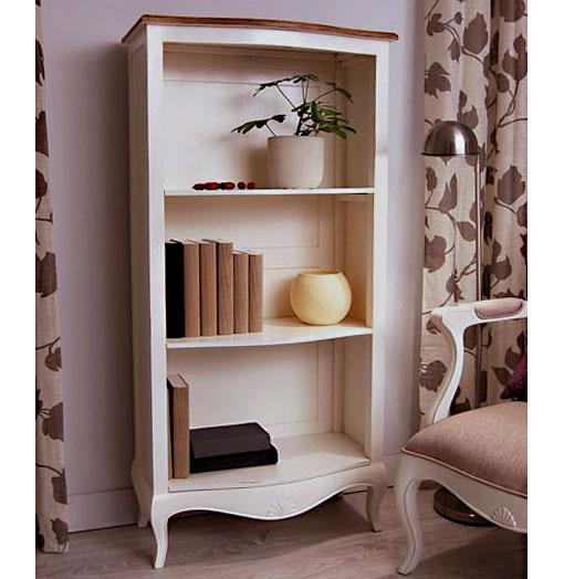 Estanter a bicolor vintage par s en - Como pintar muebles de pino ...