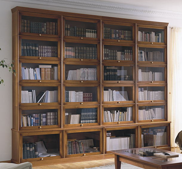 Estanteria Composicion 5 Colonial Helsinky De Lujo En - Estanterias-rusticas-de-madera