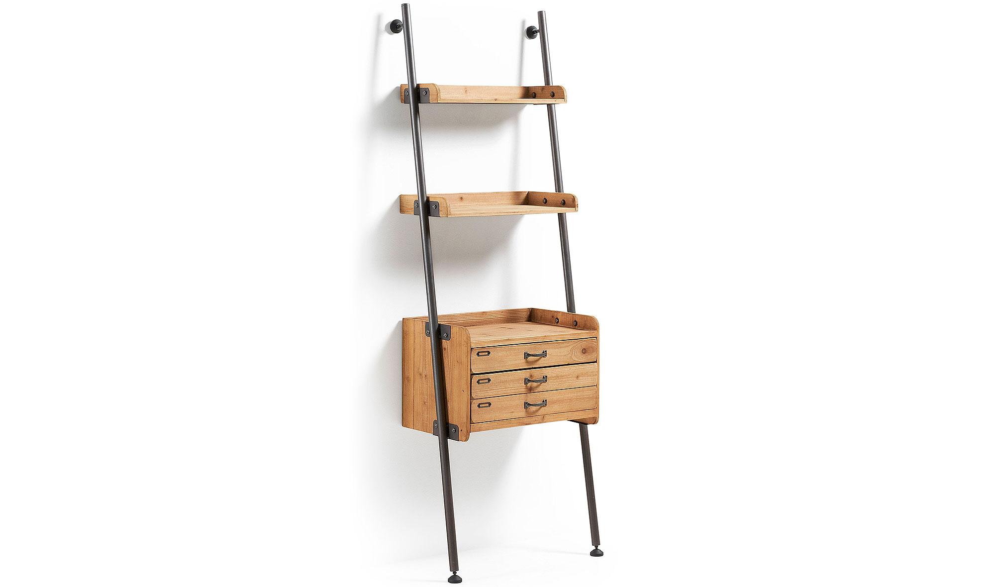 estantera industrial con cajones mobela - Estanterias Estrechas