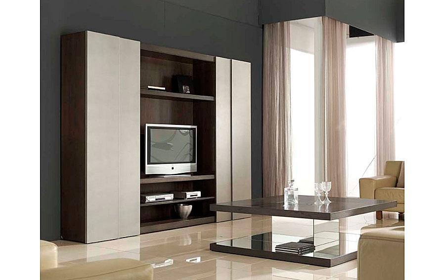 Mueble de sal n puertas correderas moderna en - Muebles puertas correderas ...