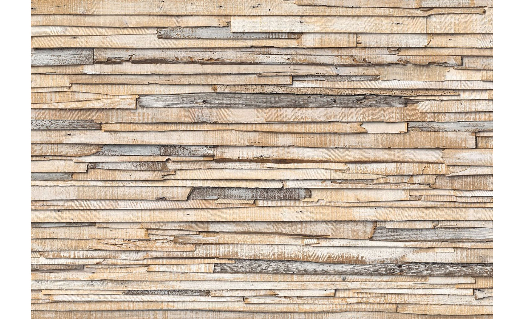 Fotomural madera encalada en for Papel mural tipo madera