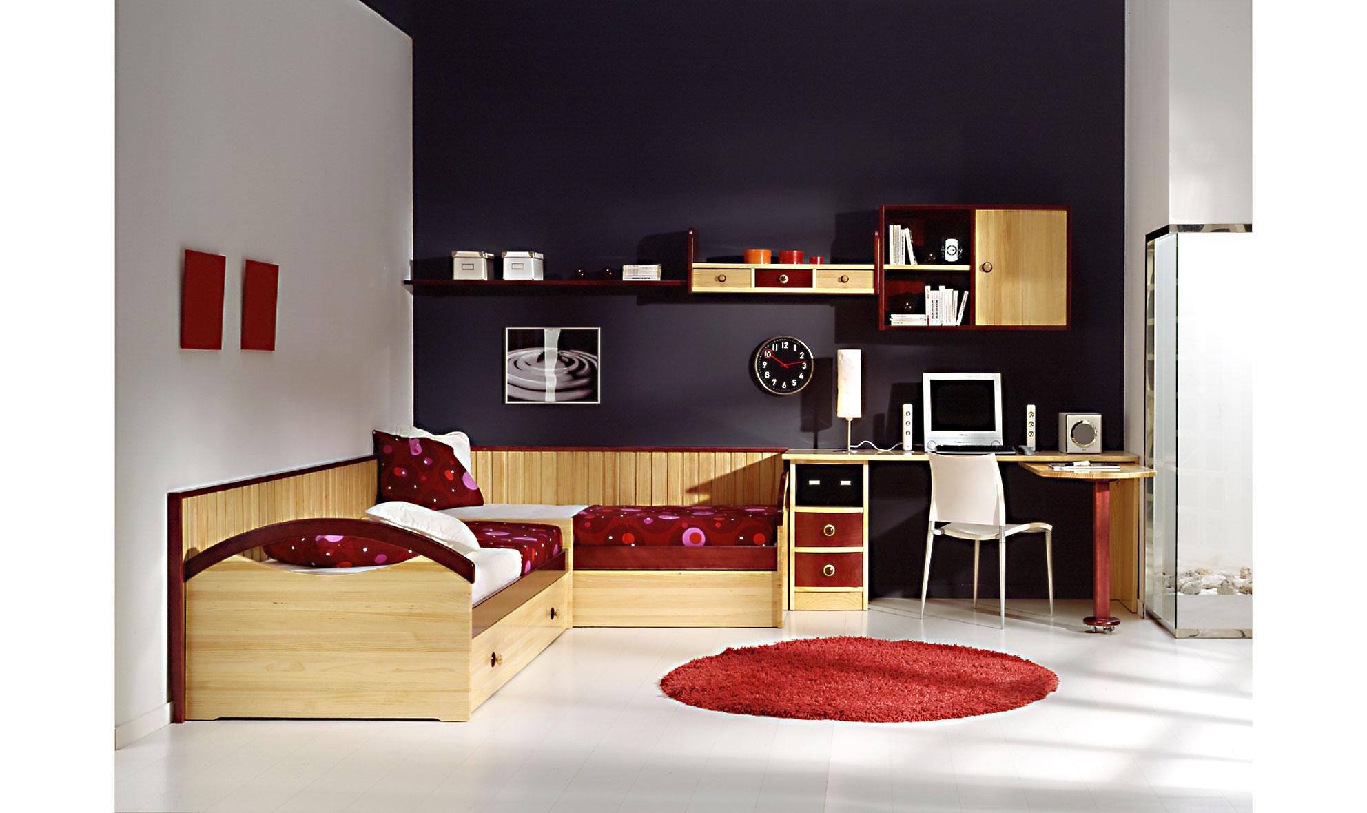 Habitaci n juvenil queens de lujo en - Muebles para habitacion ...