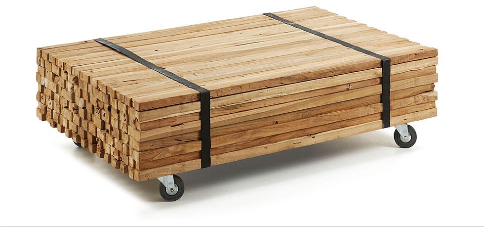 Irma mesa centro madera natural en cosas de arquitectoscosas de ...