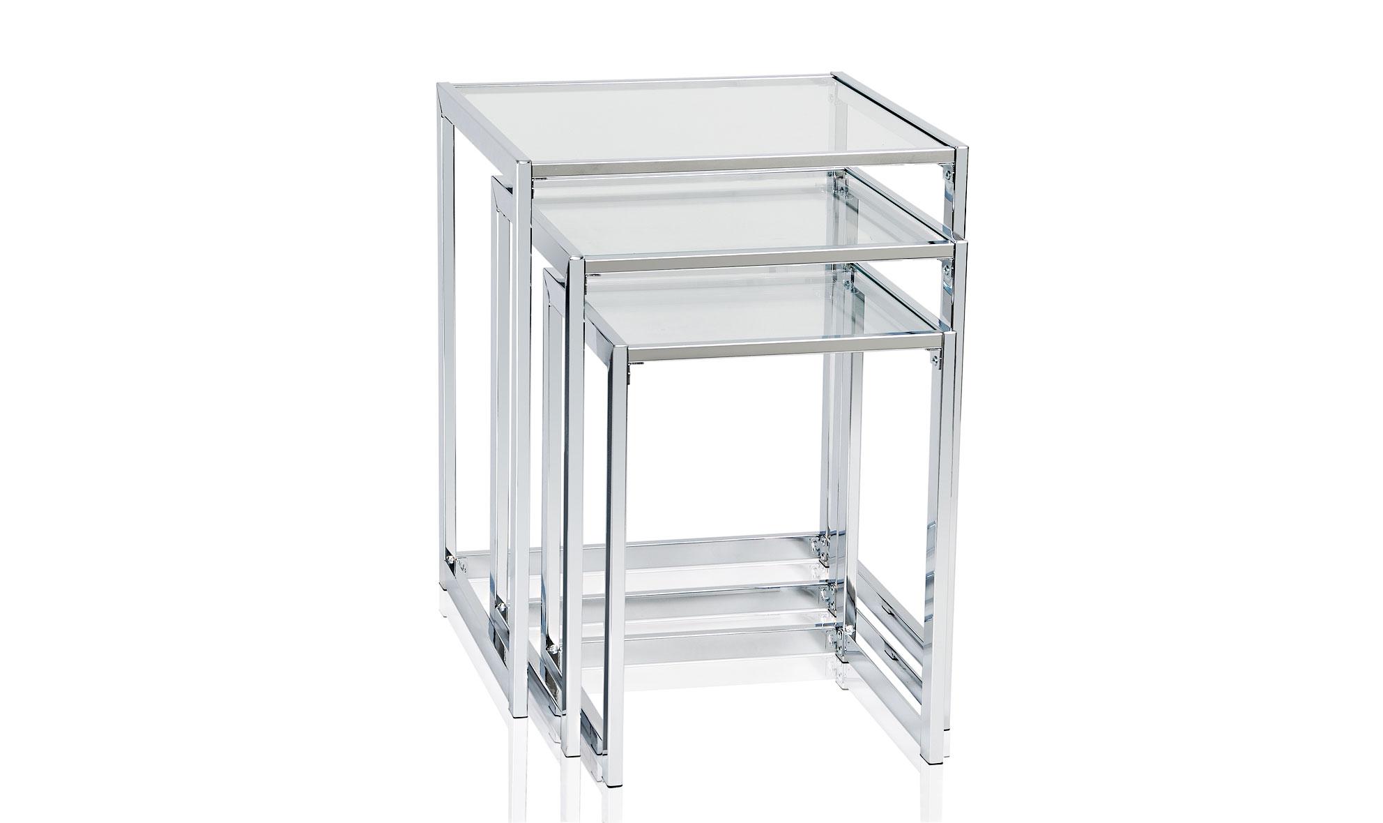 Juego de 3 mesas vidrio templado no disponible en - Mesas cristal templado ...