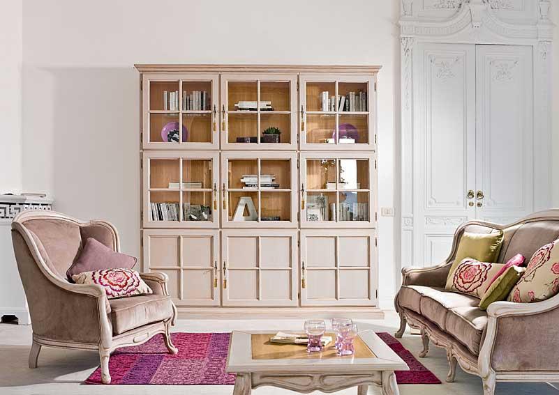Libreria vintage asada en for Libreria muebles