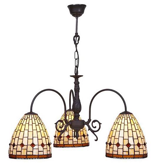 L mpara tiffany techo 3 luces art no disponible en - Lamparas y plafones ...
