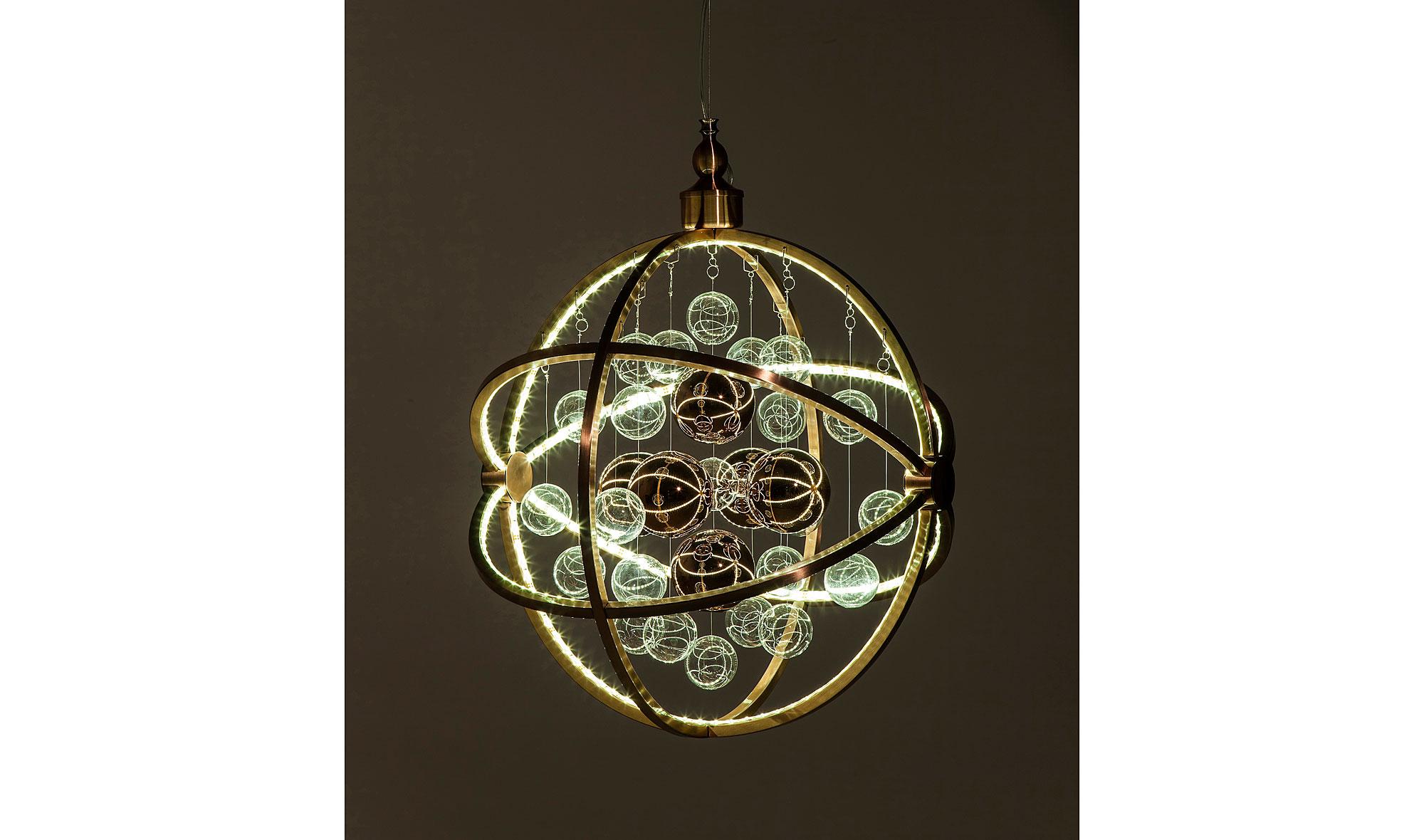 Lámpara de techo colgante LED Universum cobre en Portobellostreet.es