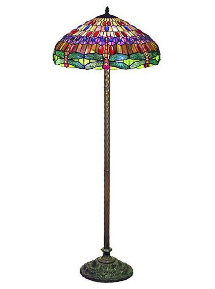 Muebles Martin Peñasco:  Lámpara de Pie América - Lámparas Tiffany - Objetos de Decoración