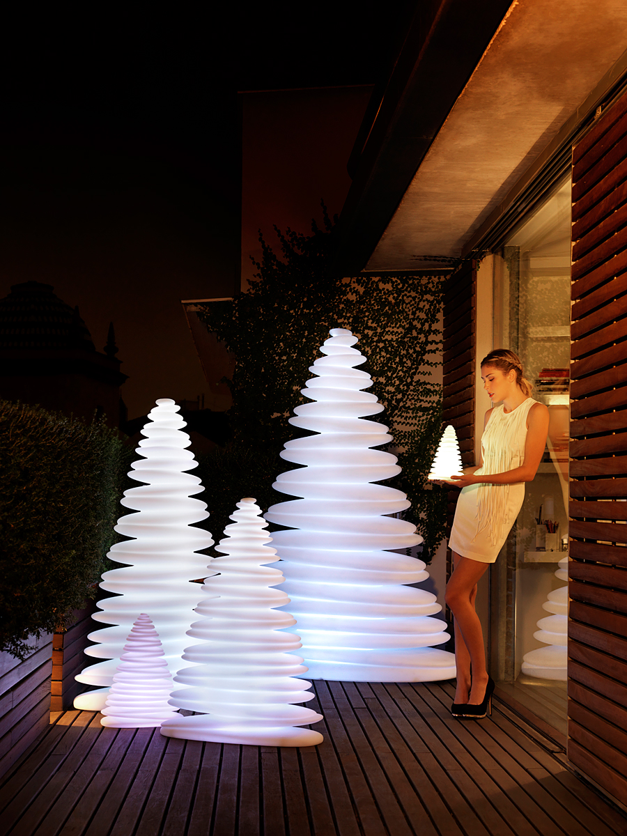 L mpara de pie de jard n chrismy en - Ikea weihnachtsbeleuchtung ...