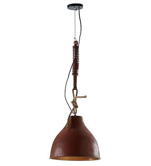Lámpara de techo color óxido Sadie