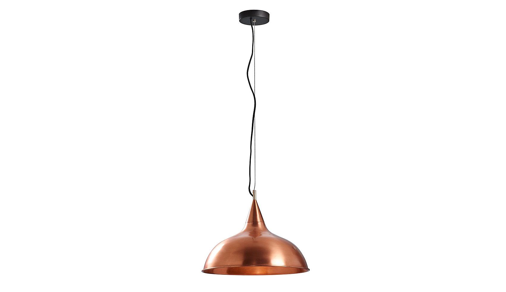 Lámpara de techo cobre Condor