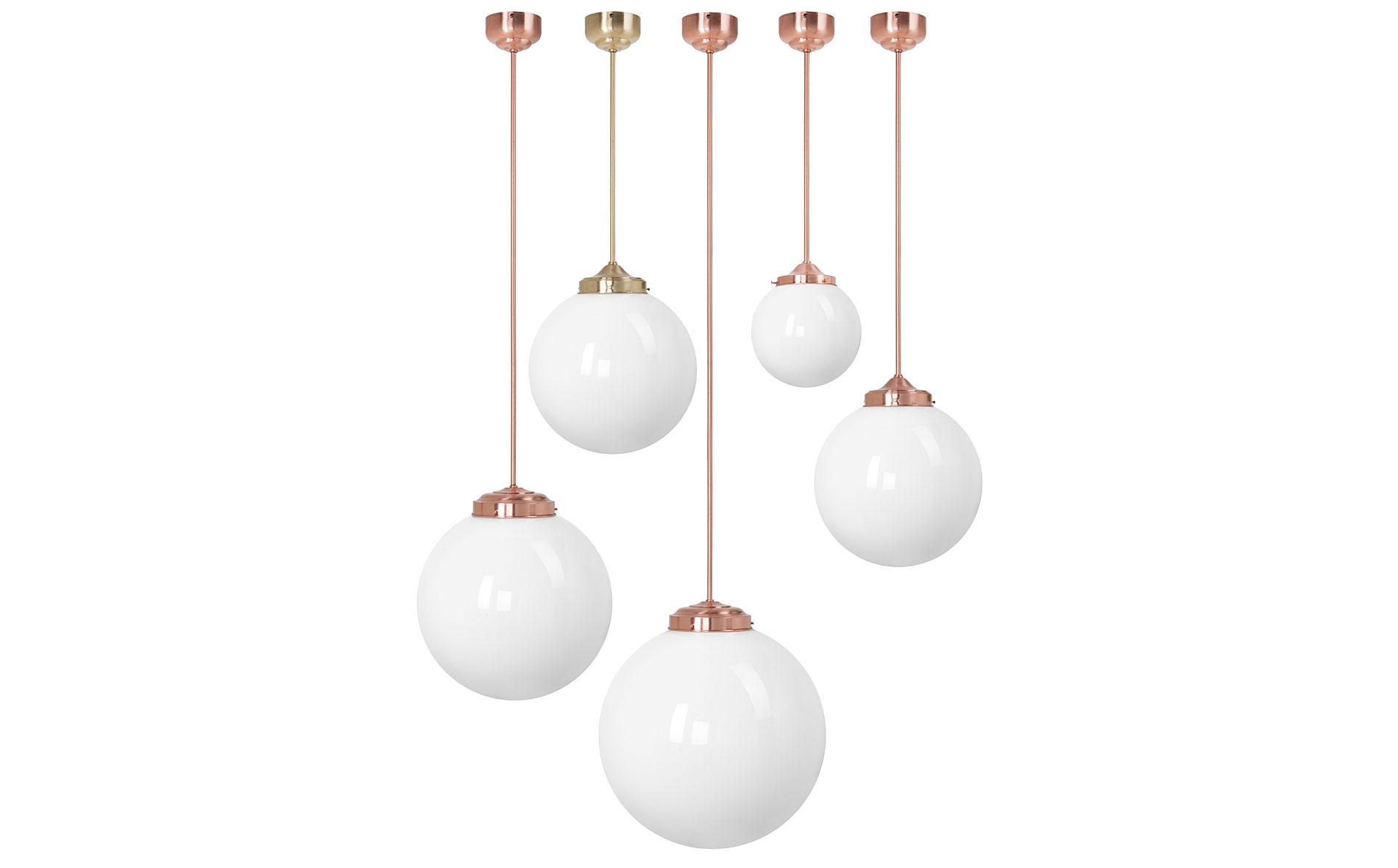 Lámpara de techo colgante Globo cobre no disponible en ...