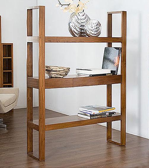 Libreria baja 3 cajones olmo no disponible en for Libreria muebles