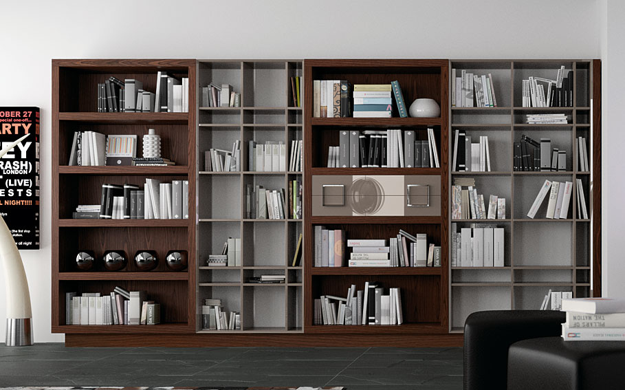 Librer a moderna bauhaus no disponible en for Muebles librerias modernas
