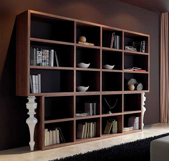 Libreria moderna candolim en for Muebles librerias para salon