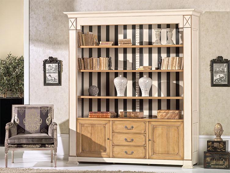 Librer a vintage fedora en for Muebles librerias para salon