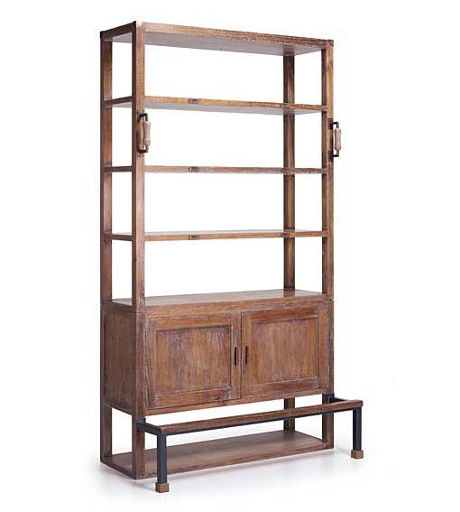 Libreria vintage industrial en for Libreria muebles