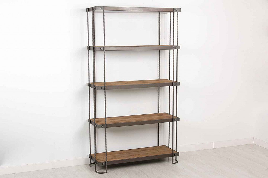 Librer a industrial iron ferralla no disponible en for Libreria muebles