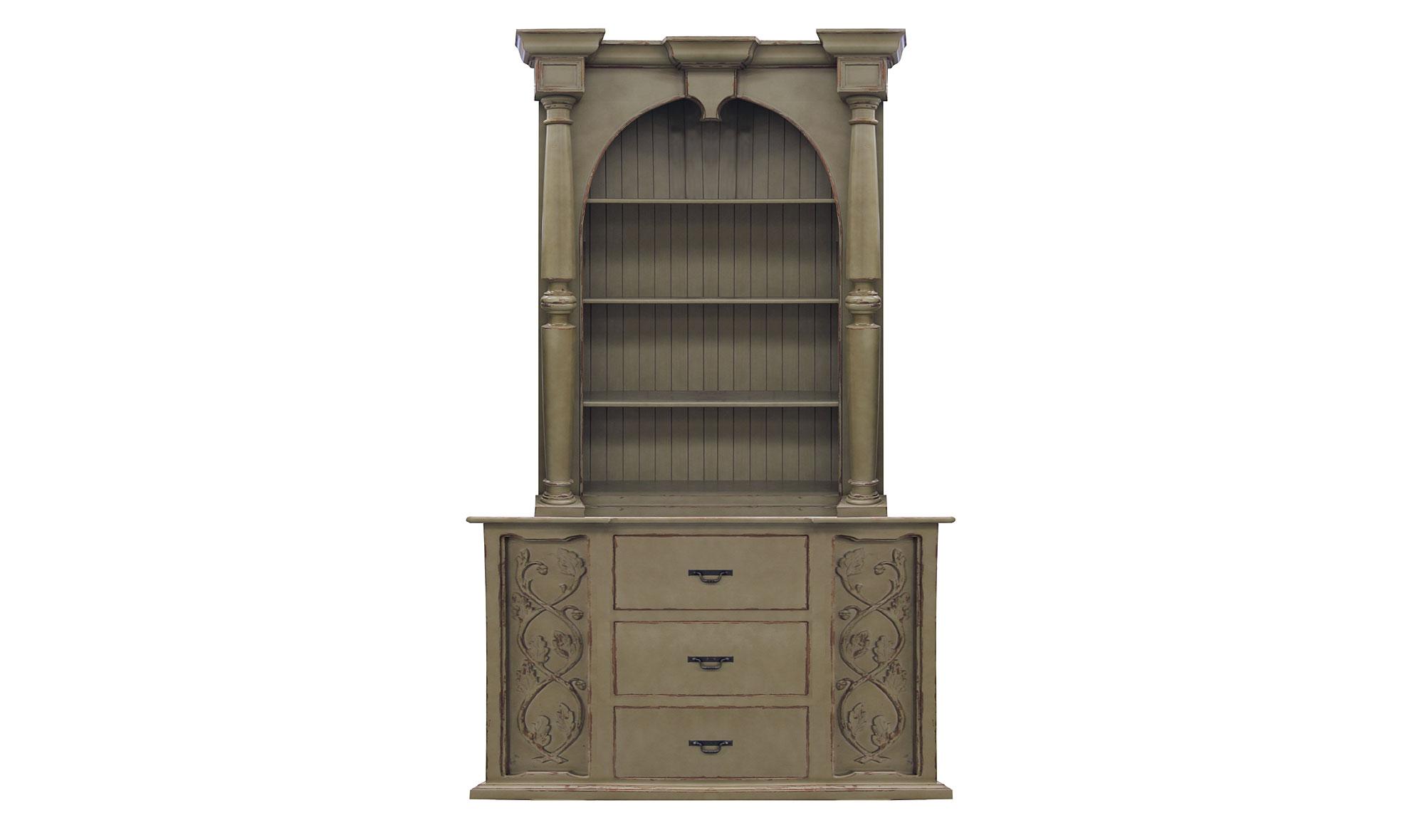 Librer a vintage cenil en tu tienda de for Muebles de oficina vintage