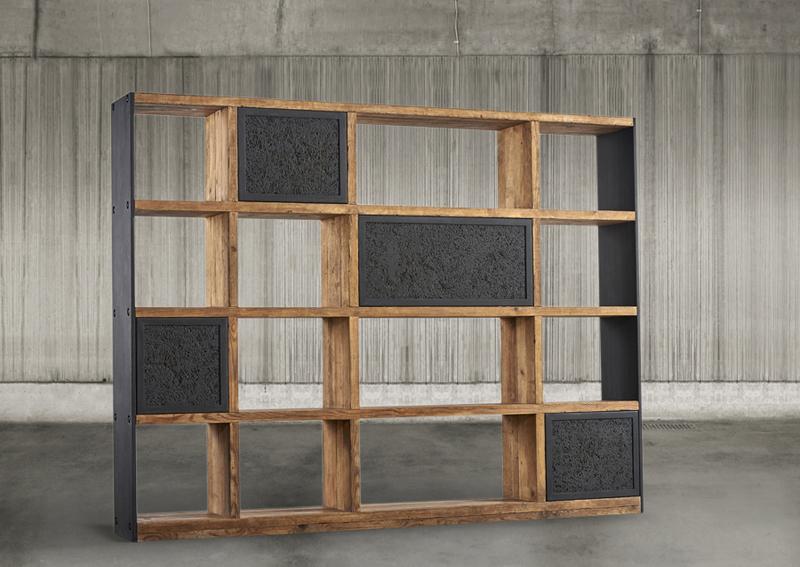 Librer a vintage neoplastic en tu tienda de for Muebles de oficina vintage