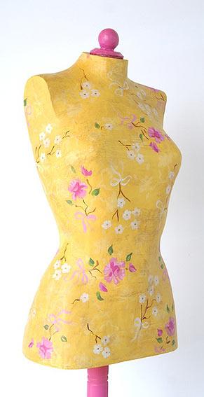 Maniquí Flores Vintage