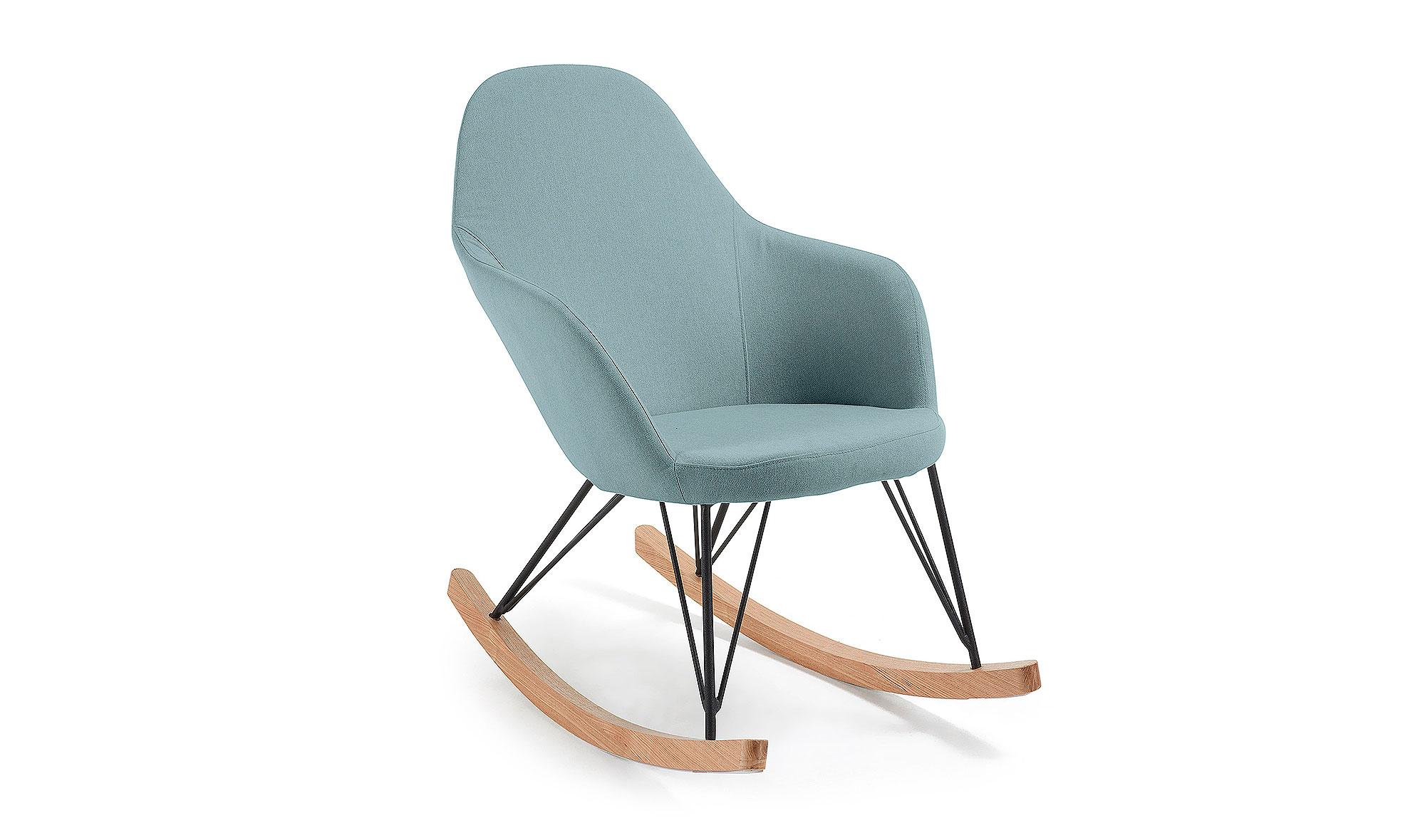 Mecedora vintage teresa azul en cosas de arquitectoscosas - Mecedoras modernas ...