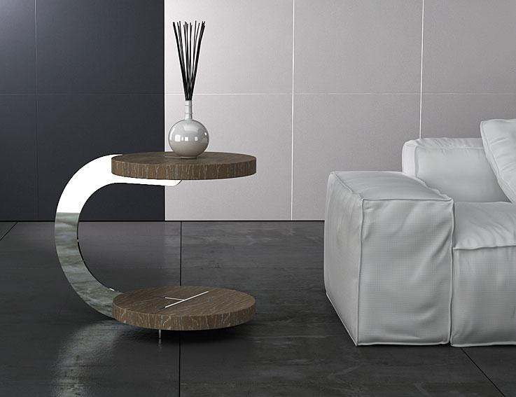 Mesa auxiliar acero atenas no disponible en - Mesa salon moderna ...
