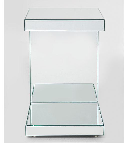 Mesa auxiliar vintage espejo no disponible en for Mesa espejo