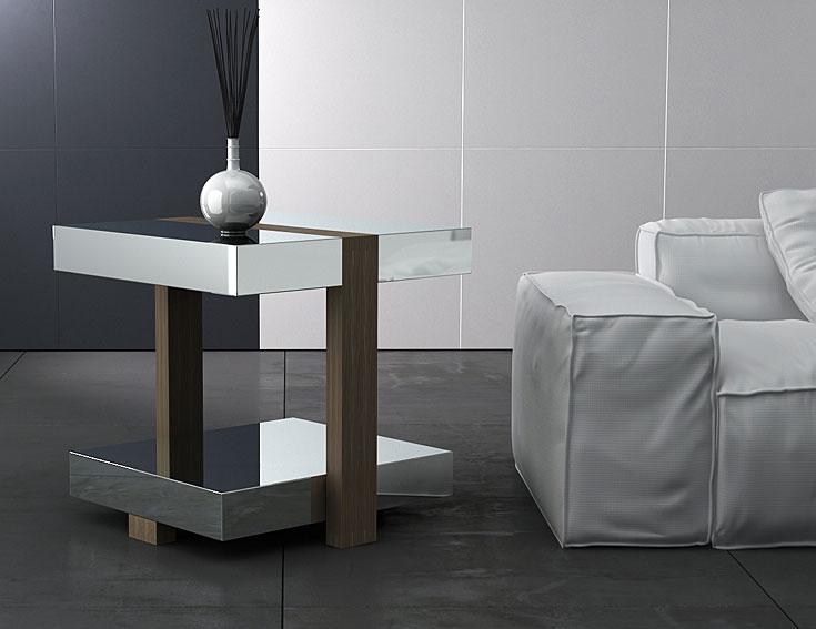 Mesa de rinc n moderna munich no disponible en for Mesas auxiliares de diseno