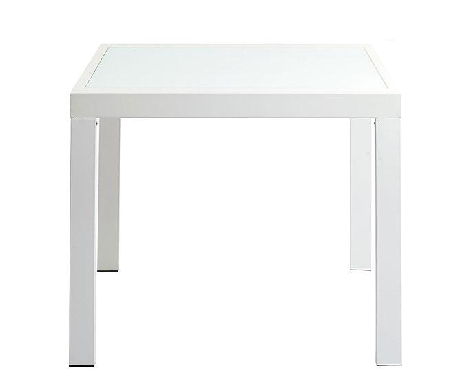 Mesa blanca extensible square no disponible en - Mesa extensible blanca ...