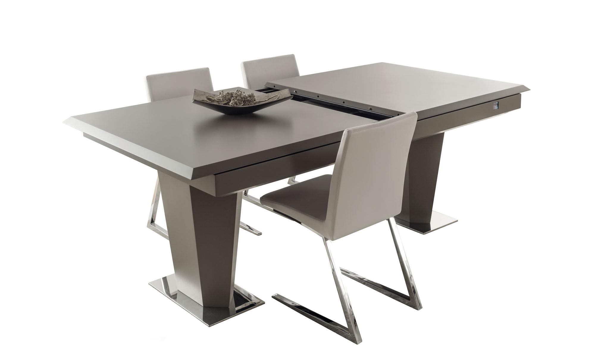 Mesa comedor extensible high tech en cosas de for Comedor extensible
