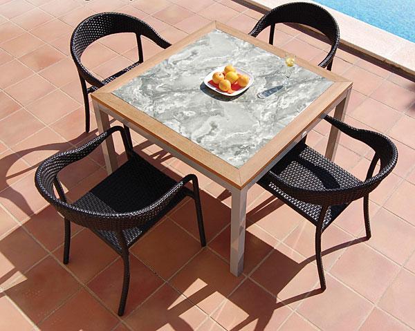Pack mesa comedor jardin 2 sillones no disponible en for Sillones mesa comedor