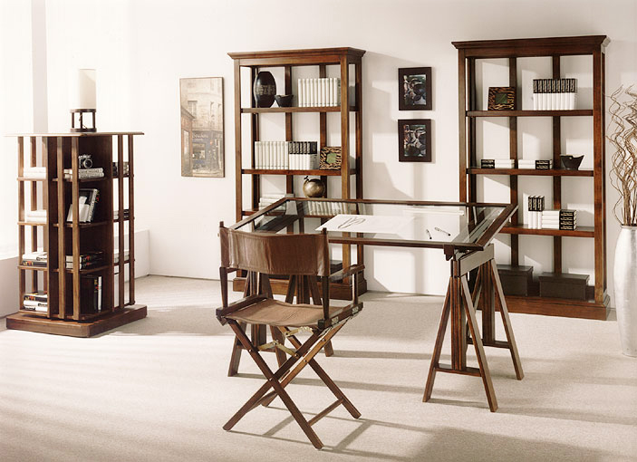 Mesa escritorio tapa de cristal en - Mesa centro madera y cristal ...