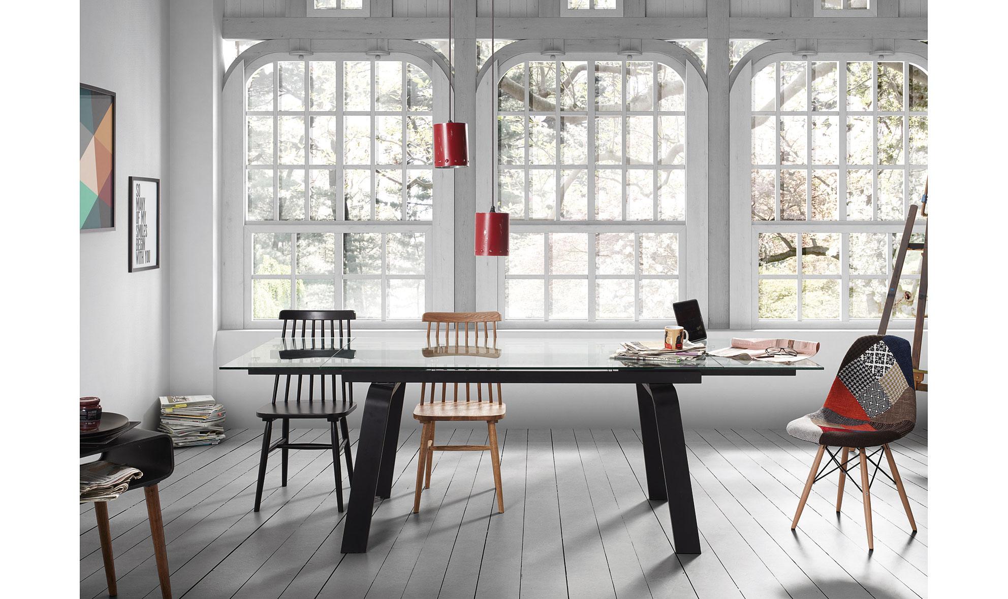 Mesa de comedor moderna shady no disponible en for Portobello madrid muebles
