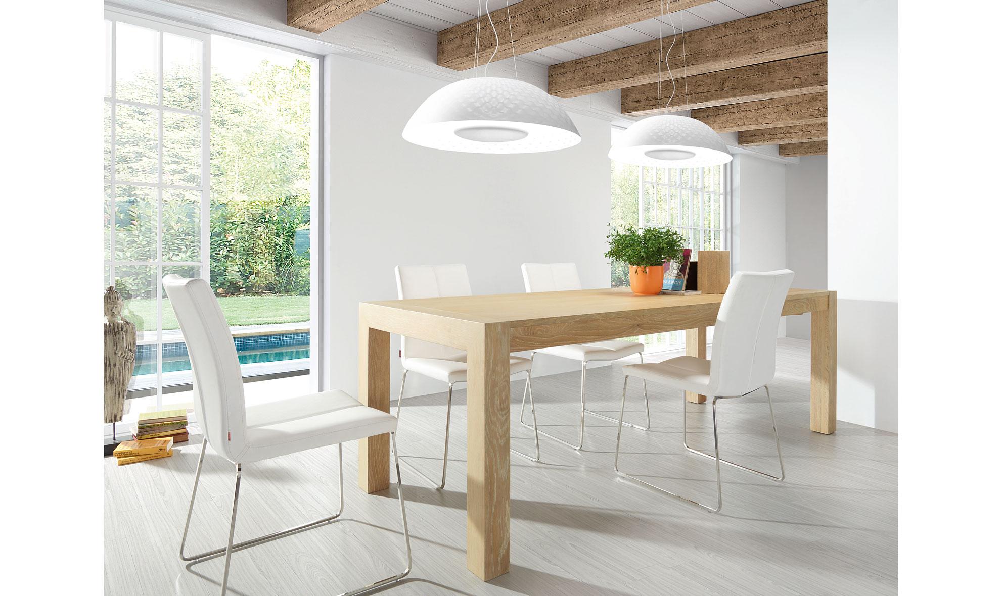 Mesa de comedor moderna stark no disponible en for Natura muebles