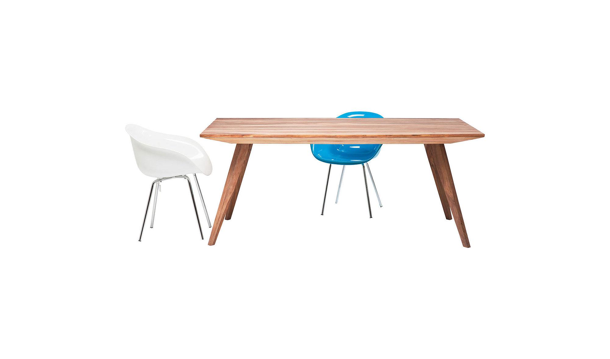 Mesa comedor madera n rdica valencia en for Muebles shena valencia