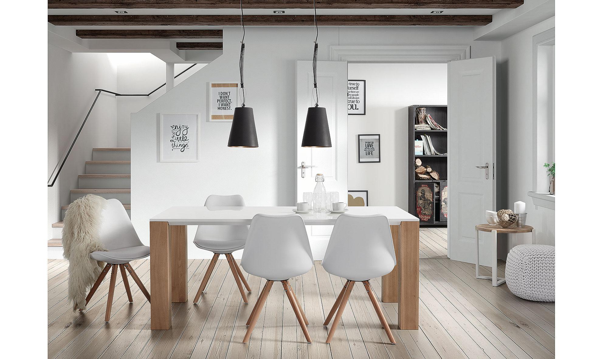Mesa de comedor moderna zora en for Mesas para salon
