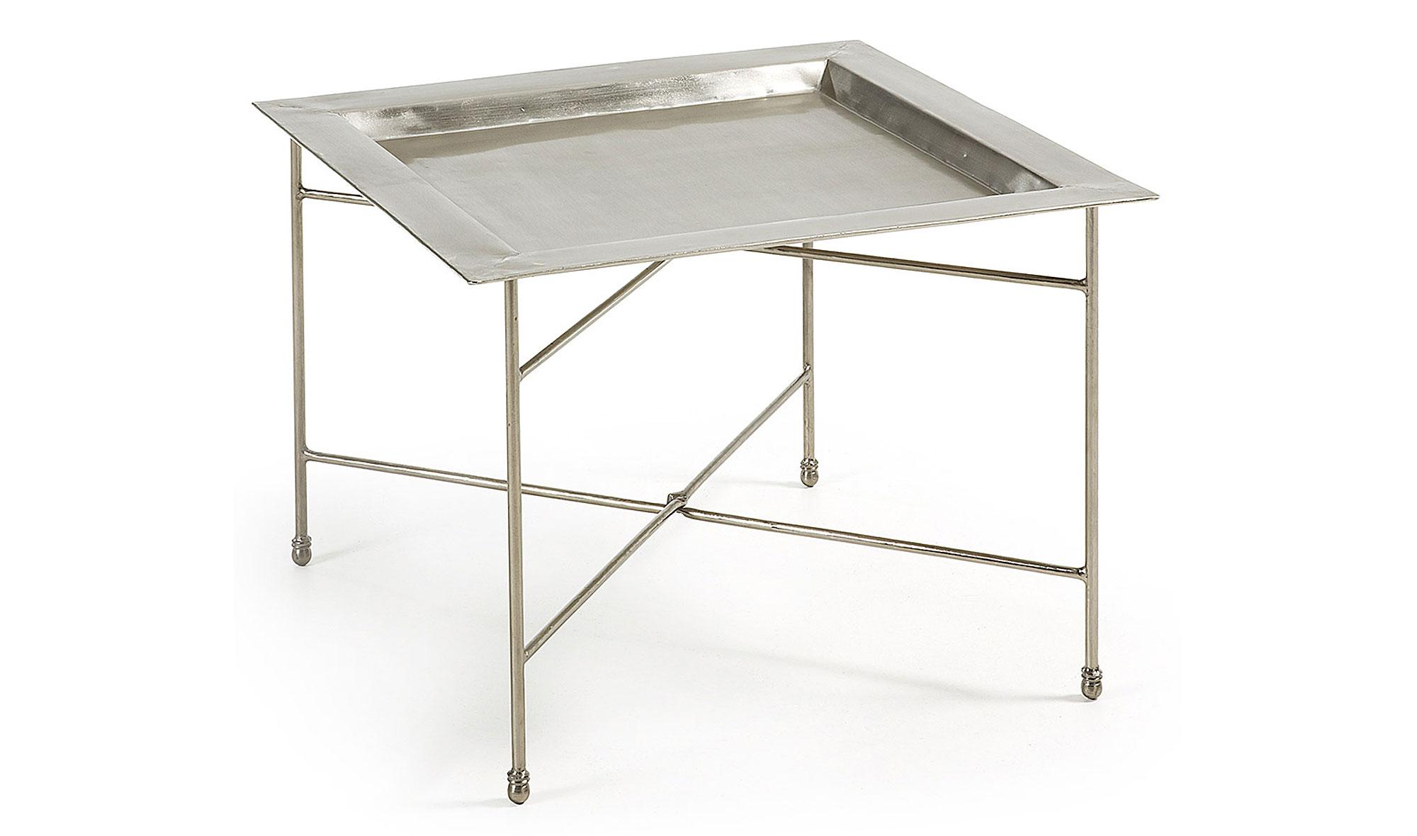 Mesa auxiliar vintage silver en for Mesas auxiliares vintage baratas