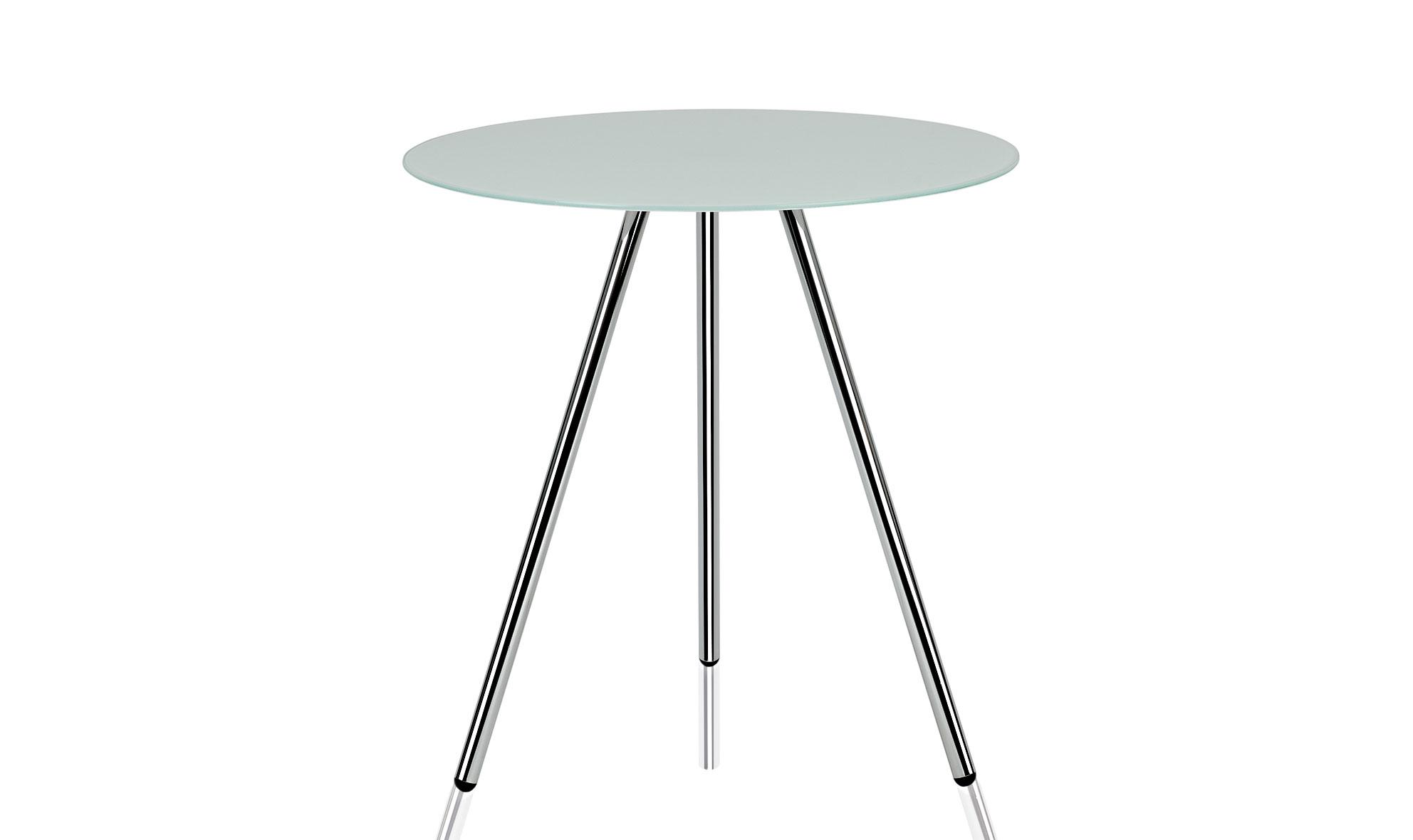 Mesa auxiliar cristal de 3 patas no disponible en - Patas para mesa de cristal ...