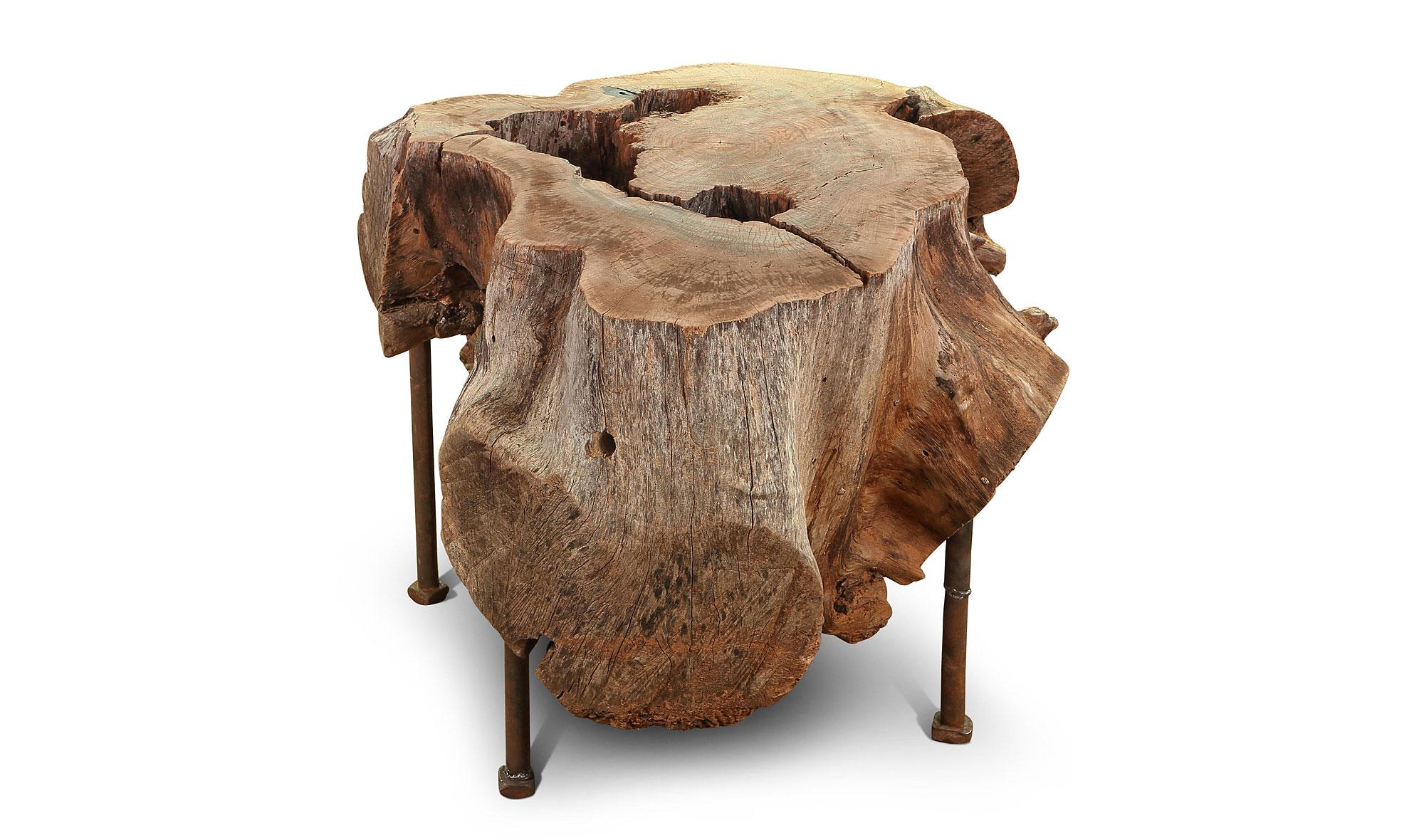 Mesa auxiliar vintage ra z en for Muebles elefante