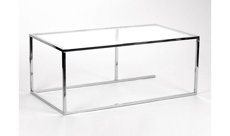 Mesa de centro moderna chromeo no disponible en for Amadeus muebles