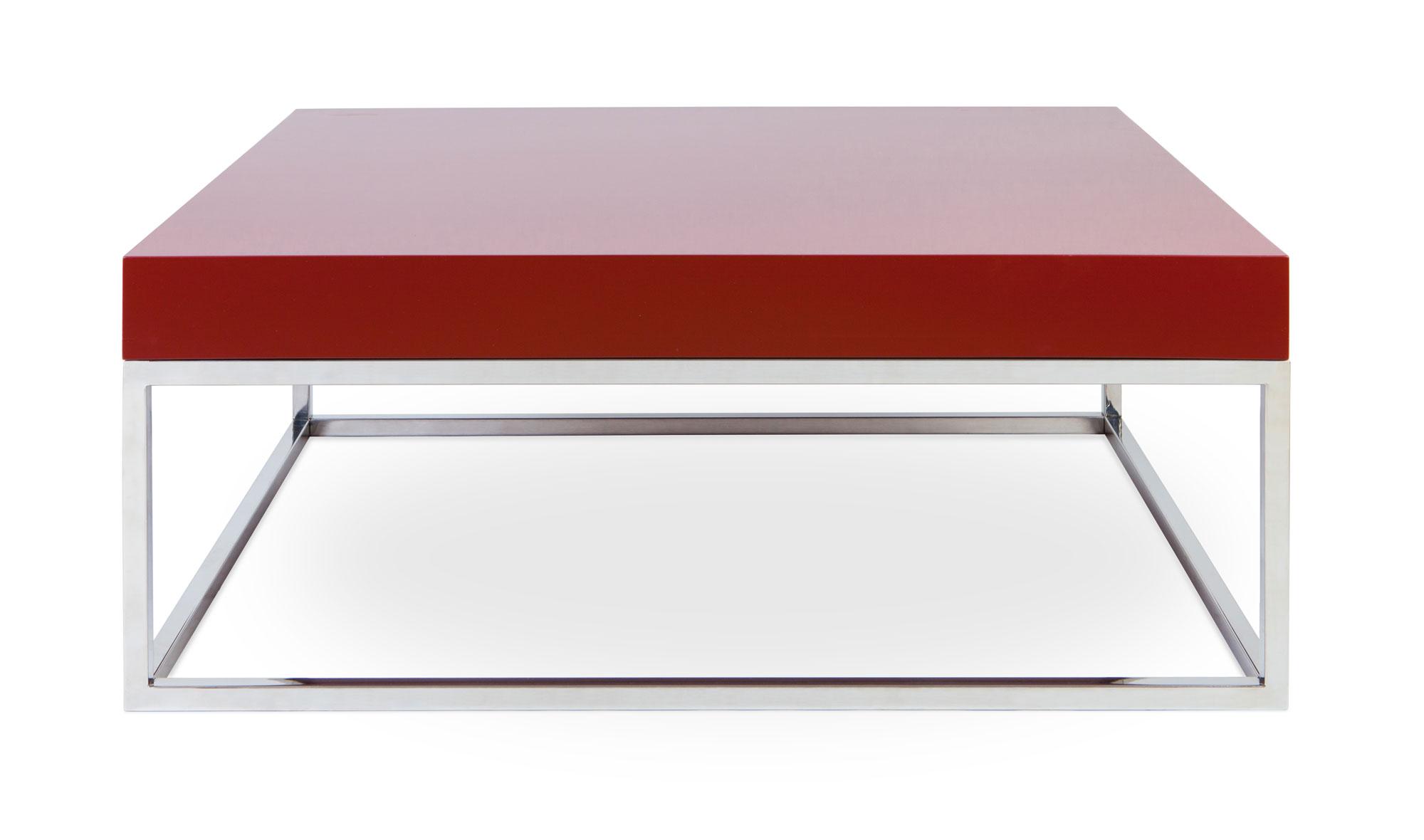 Mesa centro moderna rosso en cosas de arquitectoscosas de - Mesa centro diseno ...